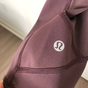 """Lululemon Pace Rival Crop 22"""" Moonphase"""